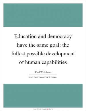 Democracy essay quotations